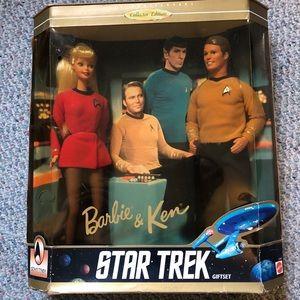 Star Trek 30th anniversary Barbie & ken vintage